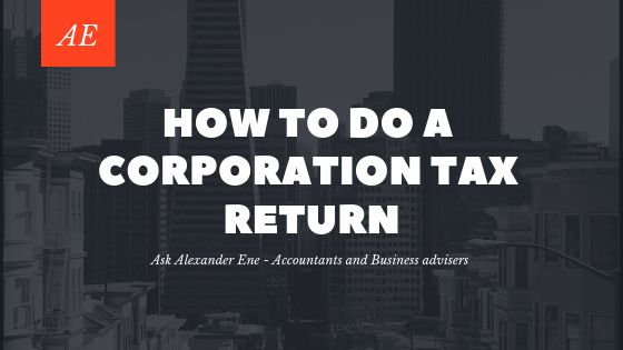 how to calculate corporation tax for small business